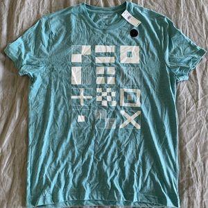 Banana Republic Factory Nautical Flag T-Shirt L